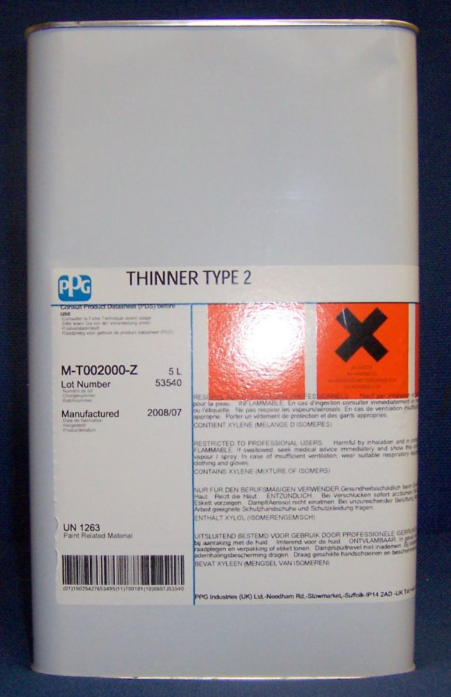 5L T048 Thinner Type 48